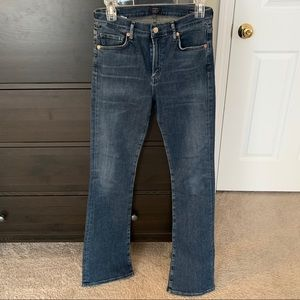 citizens of humanity tall, straight leg jeans